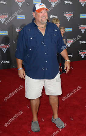 "Larry the Cable Guy arrives at the LA Premiere of ""Cars 3"", in Anaheim, Calif"