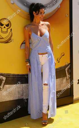 "Angie Harmon arrives at the World Premiere of ""Despicable Me 3"" at the Shrine Auditorium, in Los Angeles"