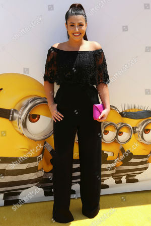 "Stock Picture of Dana Gaier arrives at the World Premiere of ""Despicable Me 3"" at the Shrine Auditorium, in Los Angeles"