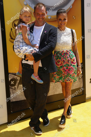 "Stock Picture of Boogie Tillmon, from right, Trey Parker and Betty Parker arrive at the World Premiere of ""Despicable Me 3"" at the Shrine Auditorium, in Los Angeles"