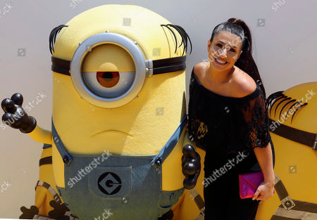 """Stock Picture of Dana Gaier arrives at the World Premiere of """"Despicable Me 3"""" at the Shrine Auditorium, in Los Angeles"""