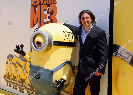 """Heitor Pereira arrives at the World Premiere of """"Despicable Me 3"""" at the Shrine Auditorium, in Los Angeles"""