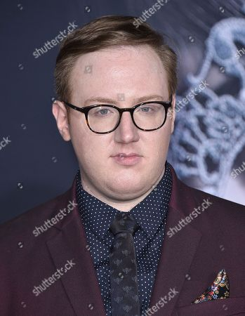 """Matt Bellassai arrives at the Los Angeles premiere of """"Fifty Shades Darker"""" at The Theatre at Ace Hotel on Thursday, Feb, 2, 2017"""