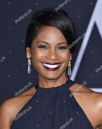 "Robinne Lee arrives at the Los Angeles premiere of ""Fifty Shades Darker"" at The Theatre at Ace Hotel on Thursday, Feb, 2, 2017"