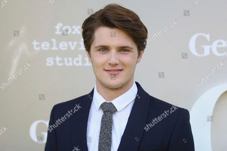 """Eugene Simon arrives at the LA Premiere of """"Genius"""" at the Fox Theatre at Westwood Village, in Los Angeles"""