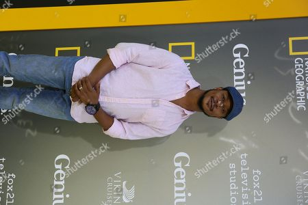 """Stock Photo of Arjay Smith arrives at the LA Premiere of """"Genius"""" at the Fox Theatre at Westwood Village, in Los Angeles"""