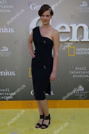 """Stock Picture of Gwendolyn Ellis arrives at the LA Premiere of """"Genius"""" at the Fox Theatre at Westwood Village, in Los Angeles"""