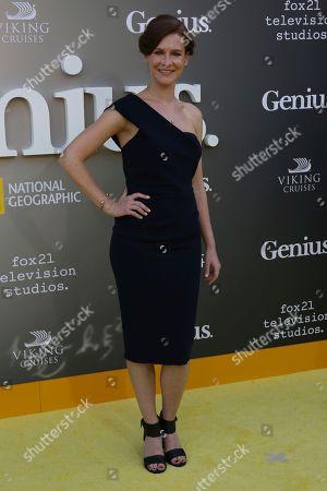 "Editorial photo of LA Premiere of ""Genius"" - Arrivals, Los Angeles, USA - 24 Apr 2017"
