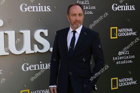 "Editorial image of LA Premiere of ""Genius"" - Arrivals, Los Angeles, USA - 24 Apr 2017"