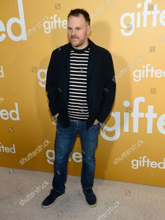 """Director Marc Webb arrives at the Los Angeles premiere of """"Gifted"""" at the Pacific Theatres at the Grove on"""