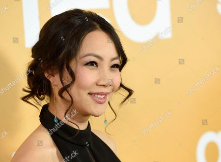 "Jona Xiao arrives at the Los Angeles premiere of ""Gifted"" at the Pacific Theatres at the Grove on"