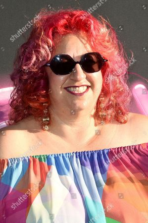 """Jenji Kohan attends the LA Premiere of """"Glow"""" at ArcLight Hollywood, in Los Angeles"""