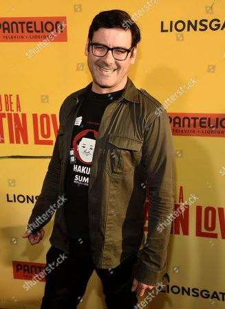 """Stock Picture of Mather Zickel arrives at the Los Angeles premiere of """"How to Be a Latin Lover"""" at the ArcLight Hollywood on"""