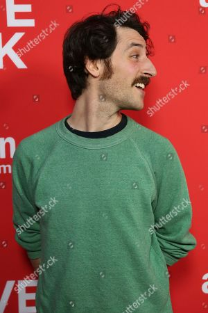 "Charlie Hankin arrives at the Los Angeles premiere of ""I Love Dick"" Season One at the Linwood Dunn Theatre on"