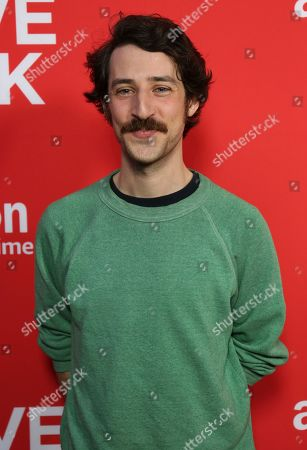 "Stock Picture of Charlie Hankin arrives at the Los Angeles premiere of ""I Love Dick"" Season One at the Linwood Dunn Theatre on"