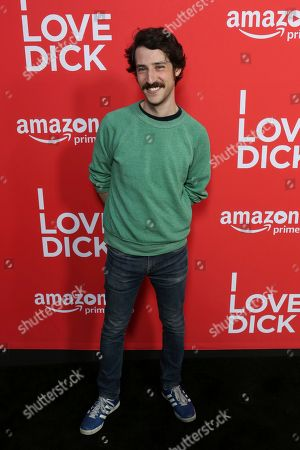 "Stock Photo of Charlie Hankin arrives at the Los Angeles premiere of ""I Love Dick"" Season One at the Linwood Dunn Theatre on"