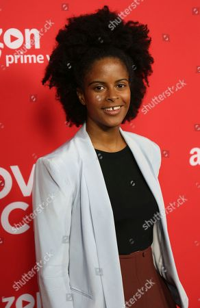 "Gabby Maiden arrives at the Los Angeles premiere of ""I Love Dick"" Season One at the Linwood Dunn Theatre on"