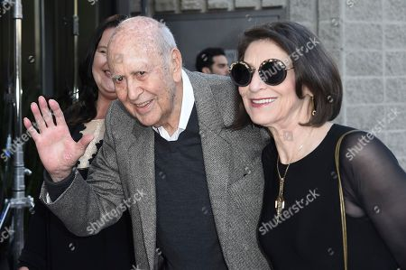 "Stock Photo of Carl Reiner attends the LA Premiere of ""If You're Not In The Obit, Eat Breakfast"" at the Samuel Goldwyn Theater, in Beverly Hills, Calif"