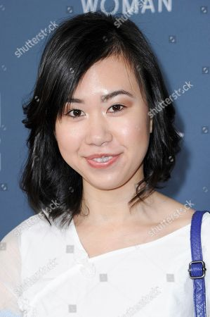 "Ramona Young attends the season 3 premiere of ""Man Seeking Woman"", in Los Angeles"