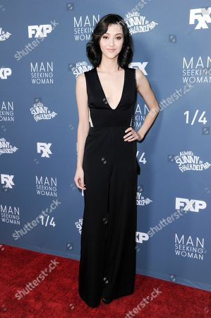 "Katie Findlay attends the season 3 premiere of ""Man Seeking Woman"", in Los Angeles"