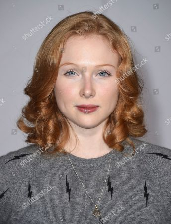 """Molly Quinn arrives at the Los Angeles premiere of """"Passengers"""" at the Village Theatre Westwood on"""