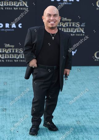 """Martin Klebba arrives at the Los Angeles premiere of """"Pirates of the Caribbean: Dead Men Tell No Tales"""" at the Dolby Theatre on"""
