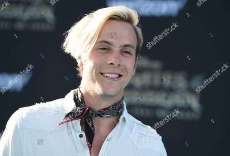 "Riker Lynch arrives at the Los Angeles premiere of ""Pirates of the Caribbean: Dead Men Tell No Tales"" at the Dolby Theatre on"