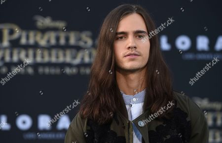 """Anthony De La Torre arrives at the Los Angeles premiere of """"Pirates of the Caribbean: Dead Men Tell No Tales"""" at the Dolby Theatre on"""