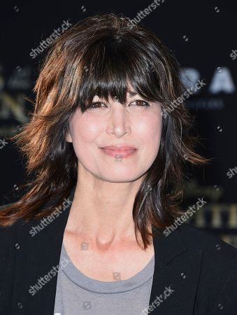"""Elizabeth Keener arrives at the Los Angeles premiere of """"Pirates of the Caribbean: Dead Men Tell No Tales"""" at the Dolby Theatre on"""