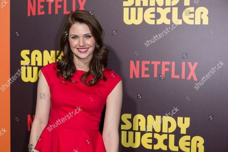 "Katie Gill arrives at the LA Premiere of ""Sandy Wexler"" at the Arclight Hollywood, in Los Angeles"