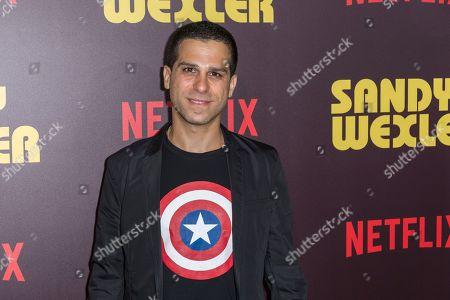 "Editorial picture of LA Premiere of ""Sandy Wexler"" - Arrivals, Los Angeles, USA - 6 Apr 2017"