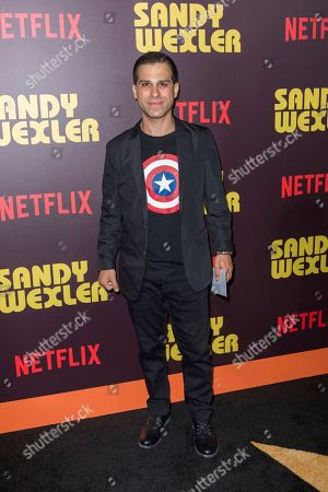 """Ido Mosseri arrives at the LA Premiere of """"Sandy Wexler"""" at the Arclight Hollywood, in Los Angeles"""