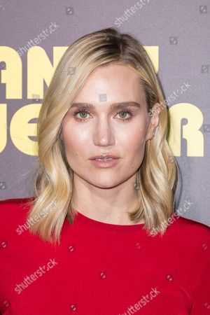 """Nora Kirkpatrick arrives at the LA Premiere of """"Sandy Wexler"""" at the Arclight Hollywood, in Los Angeles"""