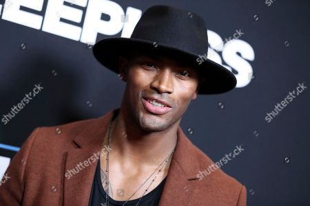 """Keith Carlos arrives at the Los Angeles premiere of """"Sleepless"""" at Regal L.A. Live on"""