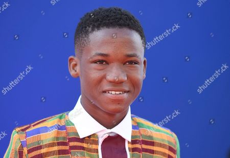 """Stock Photo of Abraham Attah arrives at the Los Angeles premiere of """"Spider-Man: Homecoming"""" at the TCL Chinese Theatre on"""