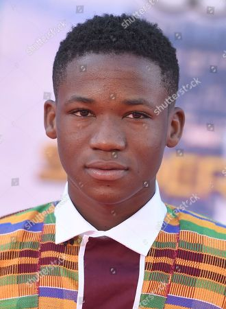 """Abraham Attah arrives at the Los Angeles premiere of """"Spider-Man: Homecoming"""" at the TCL Chinese Theatre on"""