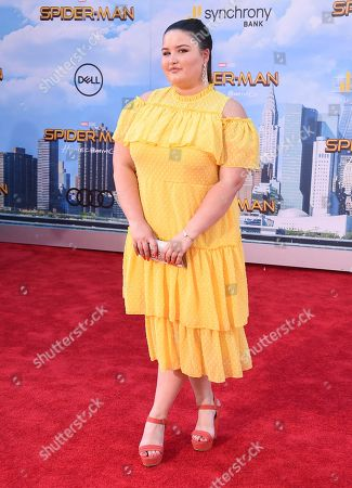"Stock Image of Isabella Amara arrives at the Los Angeles premiere of ""Spider-Man: Homecoming"" at the TCL Chinese Theatre on"