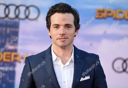 """Ian Harding arrives at the Los Angeles premiere of """"Spider-Man: Homecoming"""" at the TCL Chinese Theatre on"""