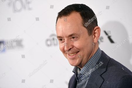 """Richard Robichaux arrives at the Los Angeles premiere of """"The Book of Love"""" at Pacific Theatres at The Grove on"""