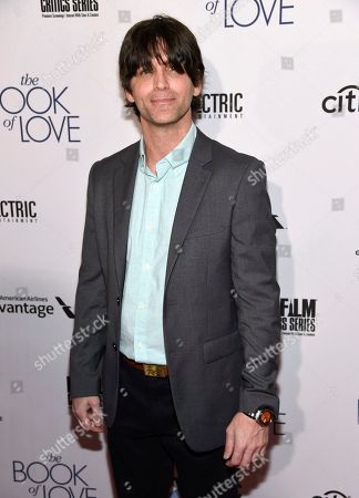 """Stock Image of Russ Russo arrives at the Los Angeles premiere of """"The Book of Love"""" at Pacific Theatres at The Grove on"""