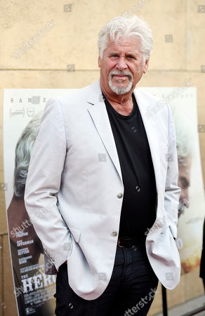 "Actor Barry Bostwick poses at the premiere of the film ""The Hero"" at the Egyptian Theatre, in Los Angeles"