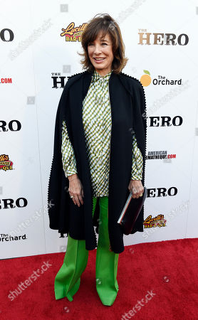 "Stock Picture of Actress Anne Archer poses at the premiere of the film ""The Hero"" at the Egyptian Theatre, in Los Angeles"