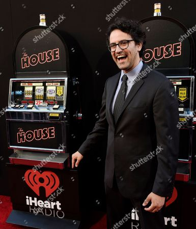 "Andrew Jay Cohen, writer/director/producer of ""The House,"" poses at the premiere of the film at the TCL Chinese Theatre, in Los Angeles"