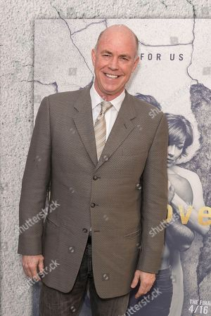 """Michael Gaston arrives at the LA Premiere of """"The Leftovers"""" Season Three at Avalon Hollywood, in Los Angeles"""