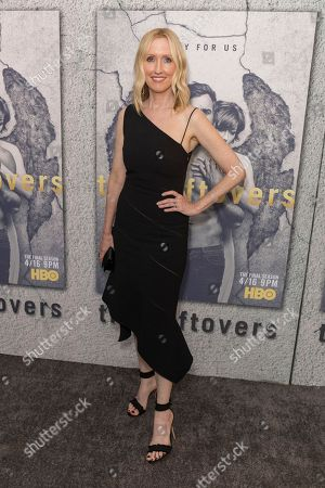 """Janel Moloney arrives at the LA Premiere of """"The Leftovers"""" Season Three at Avalon Hollywood, in Los Angeles"""