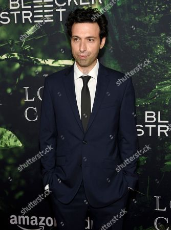 """Alex Karpovsky arrives at the Los Angeles premiere of """"The Lost City of Z"""" at the ArcLight Hollywood on"""