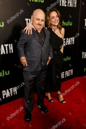 "Clark Middleton, left, and Elissa Middleton arrive at the LA Premiere of ""The Path"" Season Two, in Los Angeles"
