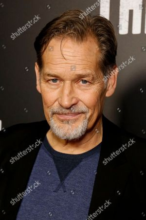 "James Remar arrives at the LA Premiere of ""The Path"" Season Two, in Los Angeles"