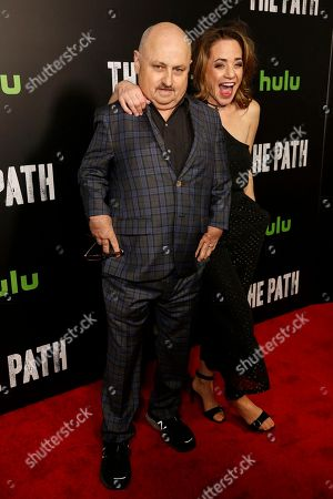 Clark Middleton, left, and Elissa Middleton arrive at the LA Premiere of 'The Path' Season Two, in Los Angeles