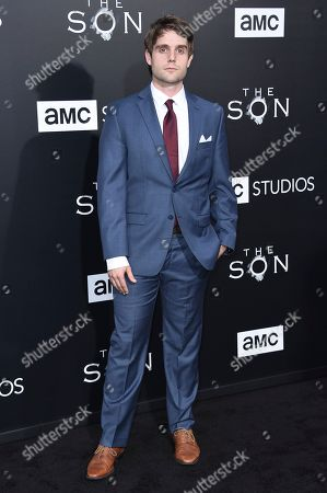 """Stock Photo of Sean Stone attends the LA premiere of """"The Son"""" Season One held at ArcLight Hollywood, in Los Angeles"""